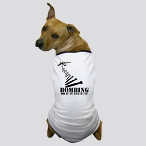 B-52 Bomber Buff themed Dog T-Shirt
